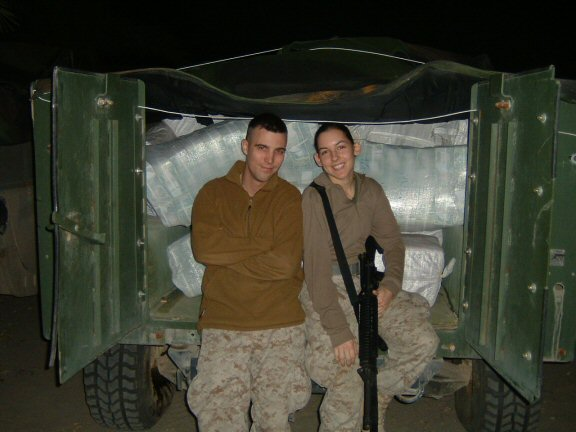 (Camp Blue Diamond, Iraq, 2004)