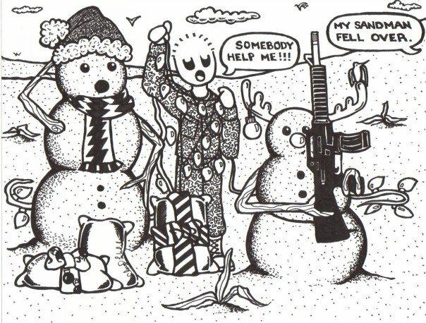 Sandmen....Merry Christmas, everyone!