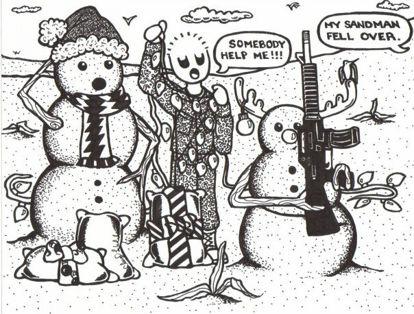Sandmen....Merry Christmas, everyone!
