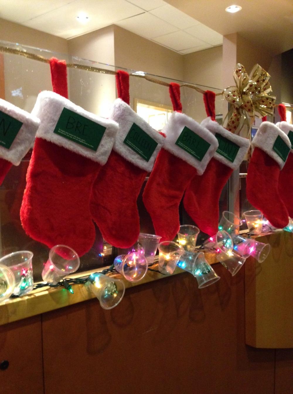 Love the stockings, too.