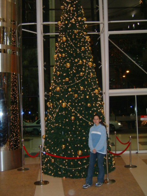 Myself at the mall in Qatar (December 2004)
