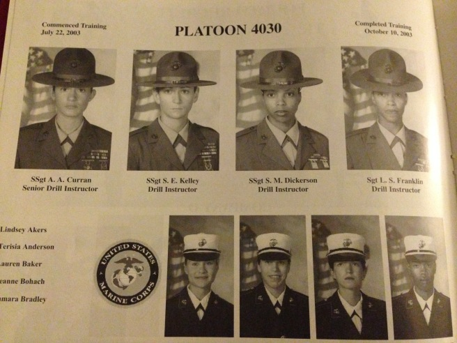 Platoon 4030, Oscar Company...We had some incredible drill instructors!