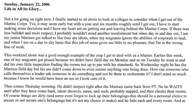 January 22, 2006