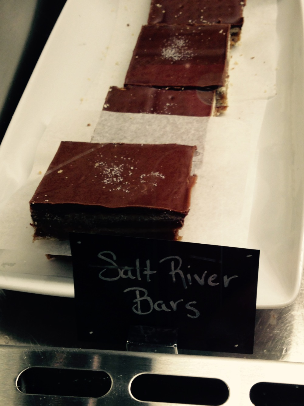Salt River Bars...because I'm always mentioning these things when we go there for breakfast.  It's ok.  It's my birthday.  I can have two desserts.