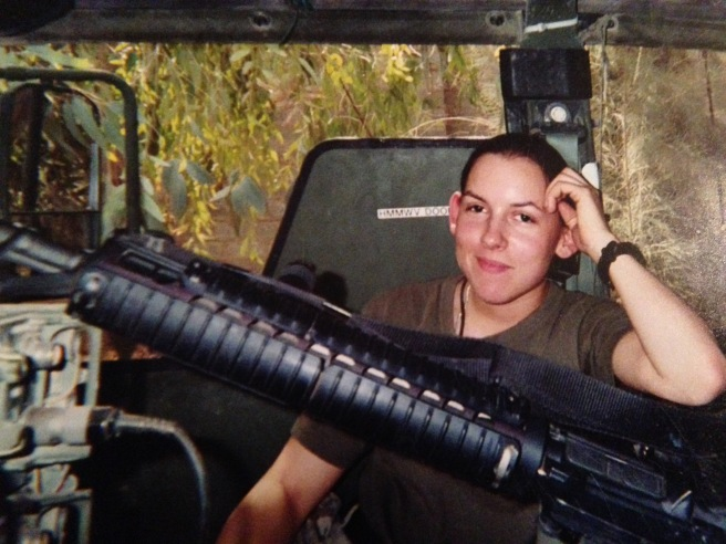 During my day trip to Camp Fallujah (2004)...I have very few photos of myself at Camp Blue Diamond (outside of Ramadi, Iraq).