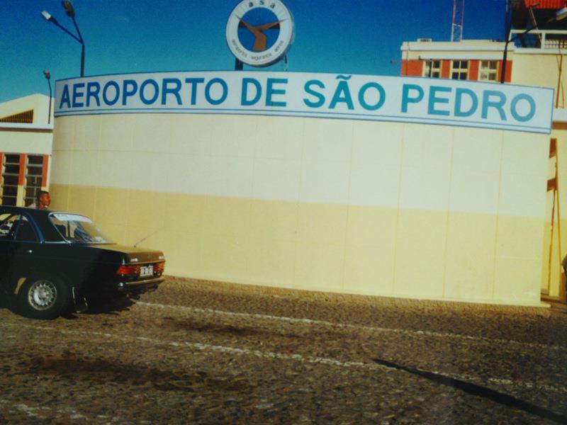 Cape Verde airport
