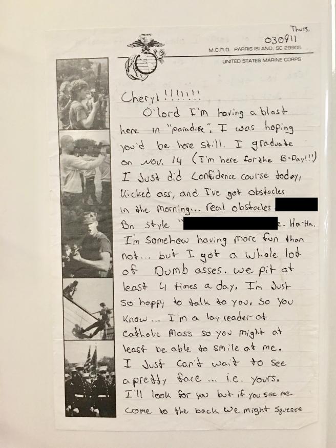Jim Sept 2003 letter